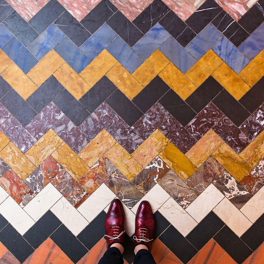 The Stunning Beauty Of London Floors Or Why You Should Look Down While Travelling Bored Panda