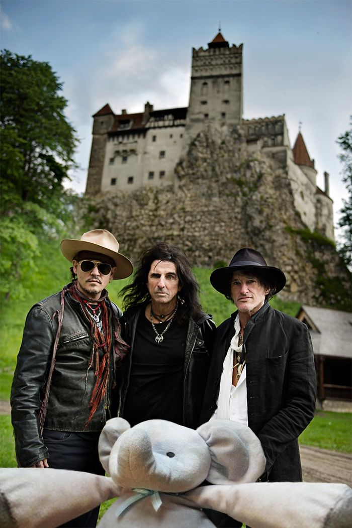 Selfie With The Vampires At Dracula's Castle