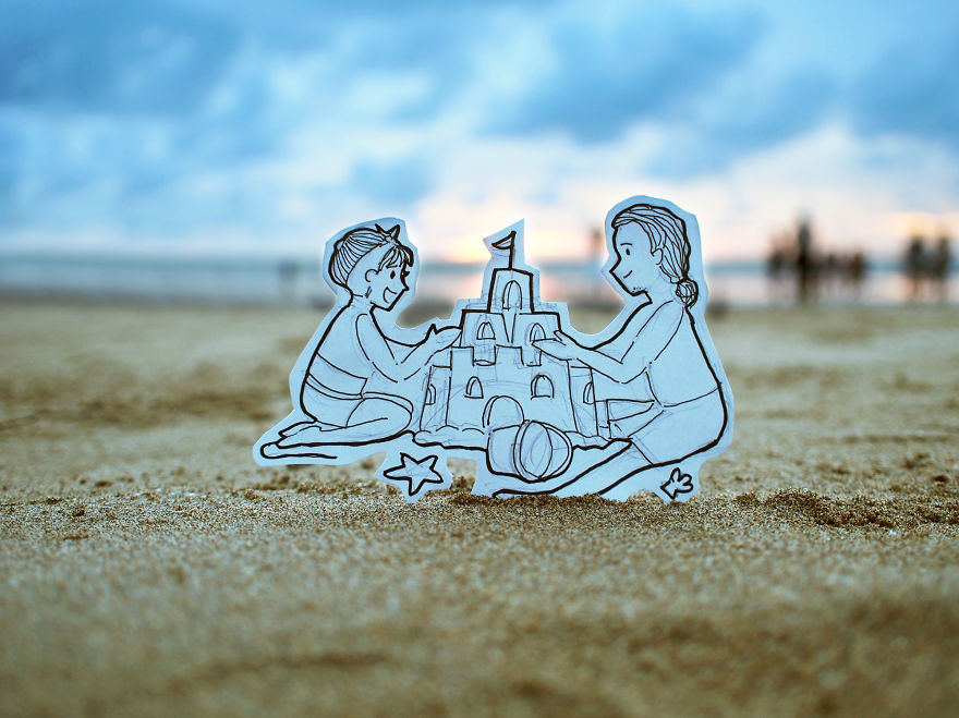 How 'bout Going Out To The Beach To Build A Sandcastle?