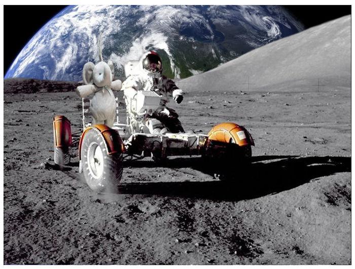 Joy Ride On The Moon!