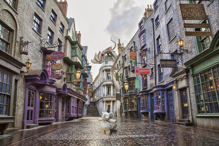 Visiting Diagon Alley