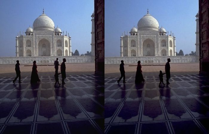 Taj Mahal - To Remove The Man Walking Away From The Family