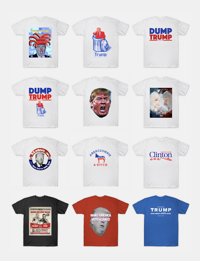 The T-Shirts For Wearing During The Next 4 (or 8) Years