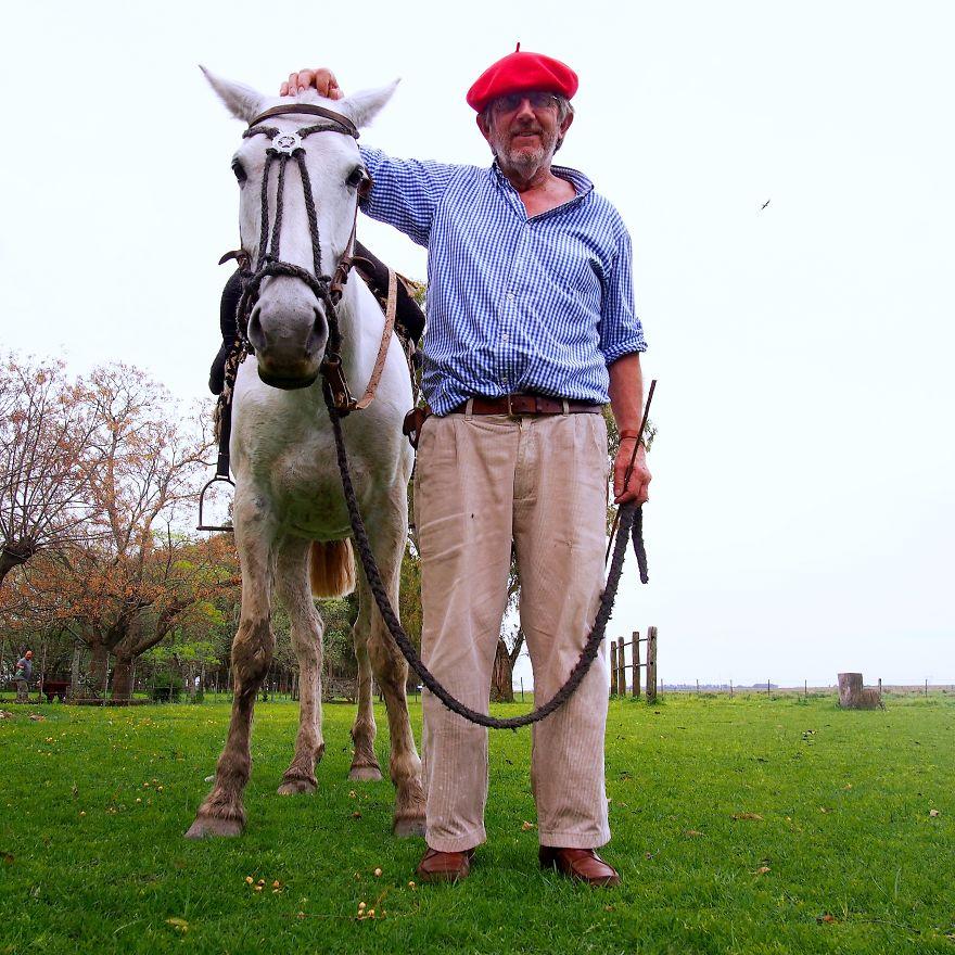 Jorge, Livestock Farmer At His Estancia. Olavarría, Argentina