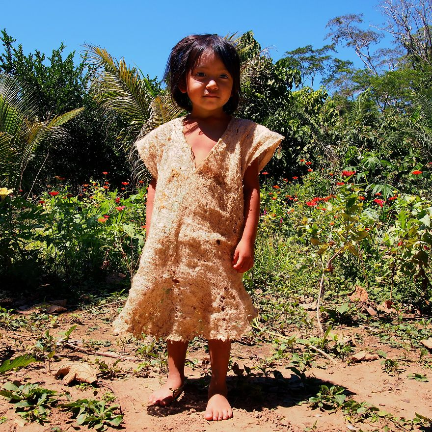 Kori, The Most Photogenic Fake Authentic Tribal Child. Puerto Maldonado, Peru
