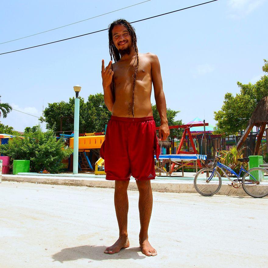 Bruno, Traveler. Isla Holbox, Mexico