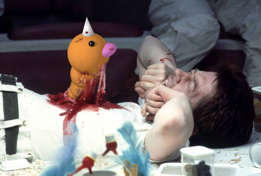 Weedle Pops Up In Alien