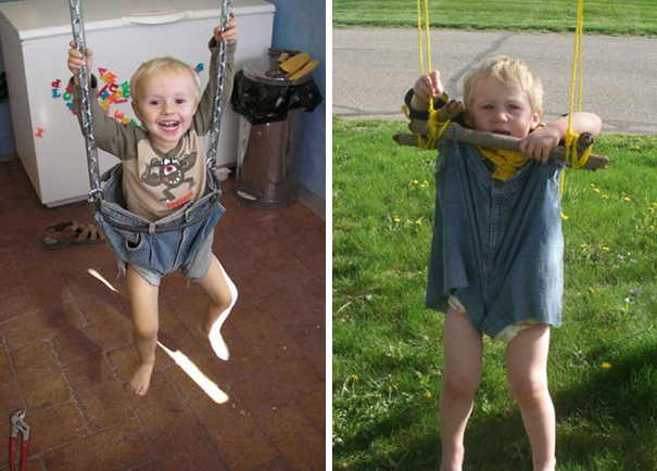 DIY Jeans Swing. Nailed It