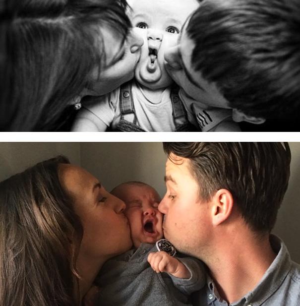 Cute Family Photoshoot. Nailed It