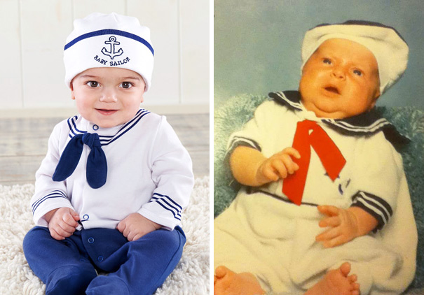 Sailor Baby Photoshoot. Nailed It