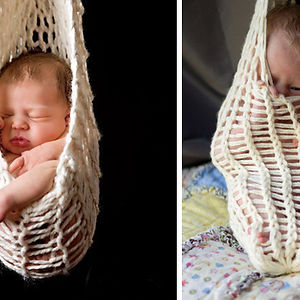 Baby In A Hammock. Nailed It