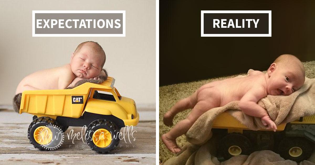 15+ Hilarious Pinterest Baby Photoshoot Fails