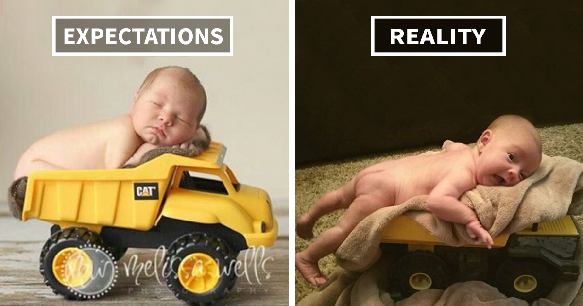 15 Hilarious Pinterest Baby Photoshoot Fails