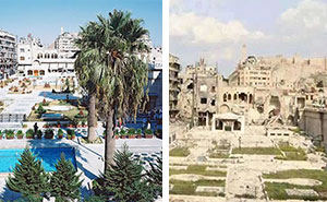 10+ Before-And-After Pics Reveal What War Did To The Largest City In Syria