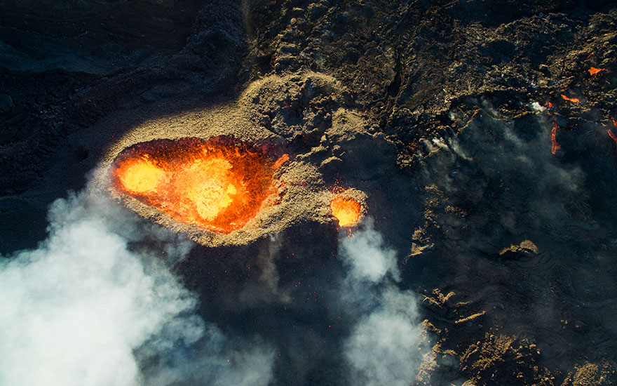 3rd Prize Winner � Category Nature Wildlife: Piton De La Fournaise, Volcano