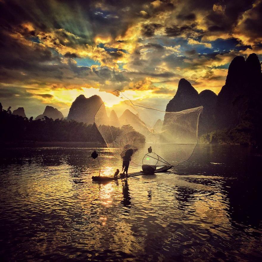 Yongmei Wang From Chongqing, China, 2nd Place, Sunset