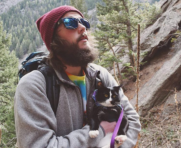 We Spent Valentine's Day Hiking A Meowntain, And It Was Wonderfurrrl
