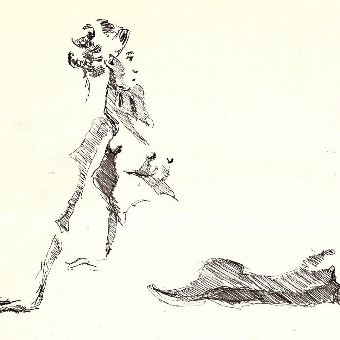 My Sketches Of Nude People That Barely Survived Storm Sandy