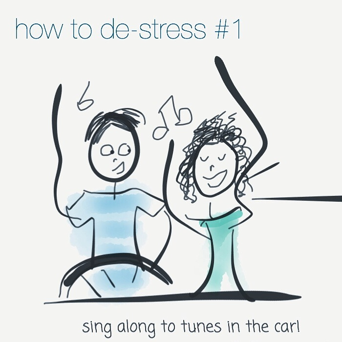 My Sketches On How To Fight Stress