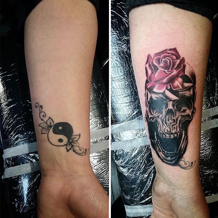 Creative Tattoo Cover-up