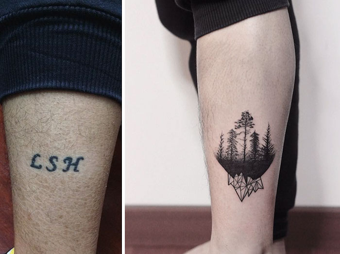 10+ Creative Cover-Up Tattoo Ideas That Show A Bad Tattoo Is Not The ...