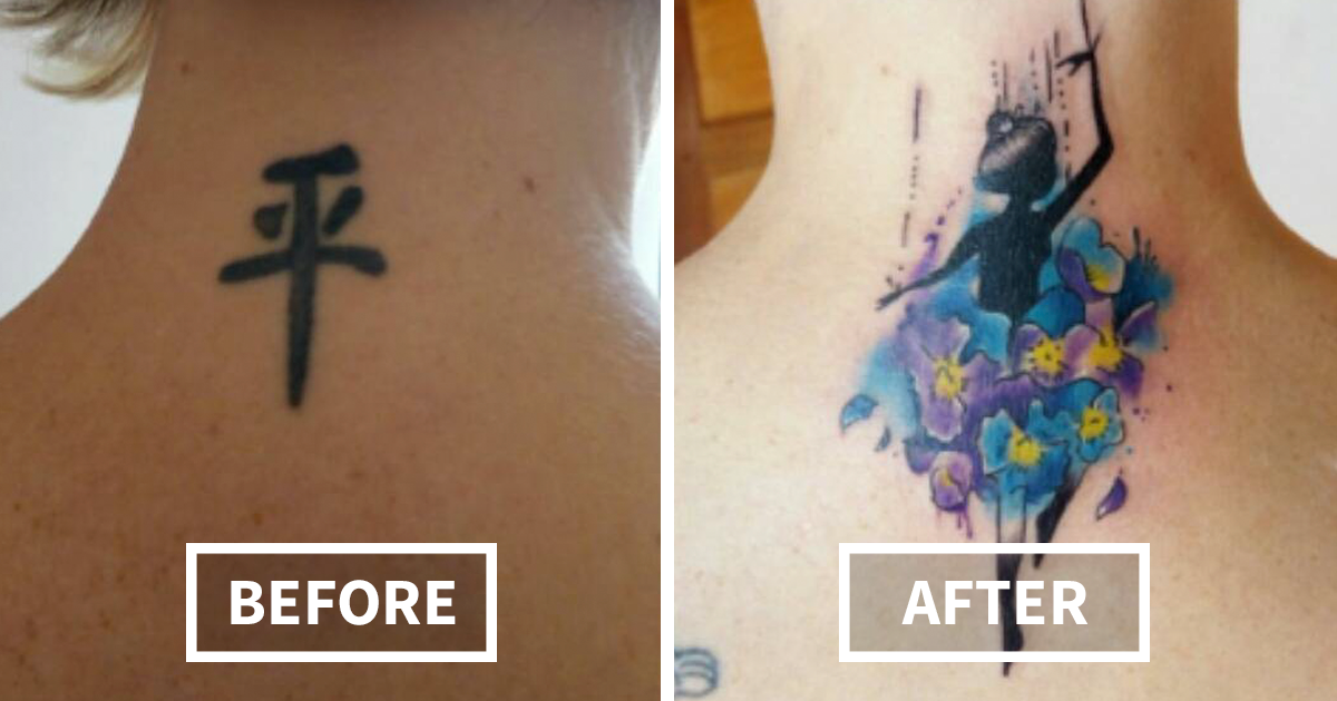 91 Creative Cover Up Tattoo Ideas That Show A Bad Tattoo Is Not The