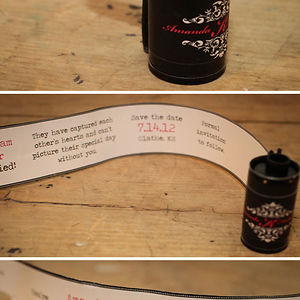 Film Canister Save The Date