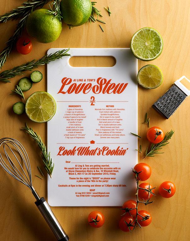 The Recipe Invite
