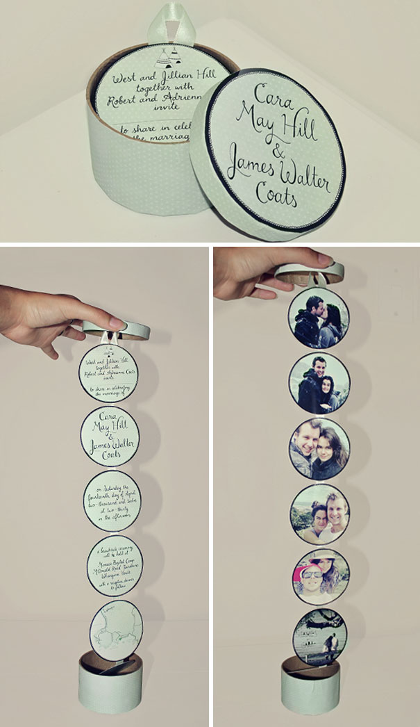 101 Creative Wedding Invitations That No One Would Dare To Resist Bored Panda
