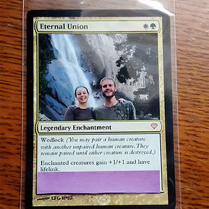 Magic The Gathering Game Cards Style Wedding Invitations