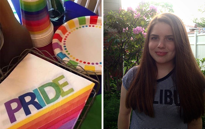Parents Throw Daughter The Best Pride Party Ever After She Came Out To Them