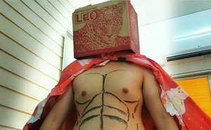 Cheap Cosplay Guy Strikes Again With Low-Cost Costumes From Household Objects