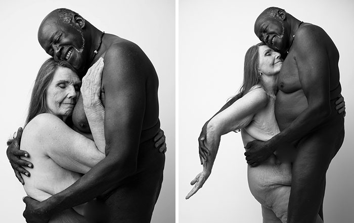 Nude Portrait Of A Couple In Their 70s Goes Viral