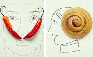 Everyday Objects Turned Into Imaginative Illustrations (Part 2)