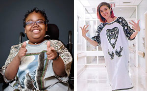 These Designers Make Ugly Hospital Gowns Look Cool To Give Sick Children A Chance To Be Themselves
