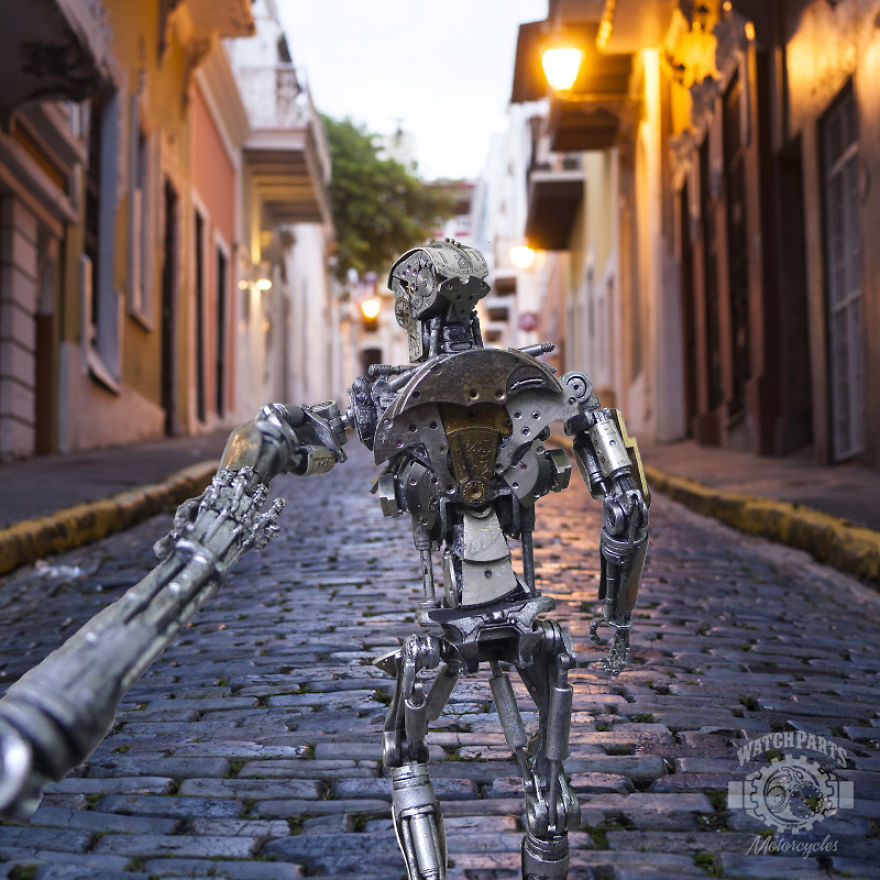 Popular 'Follow Me' Series Reimagined By Robots