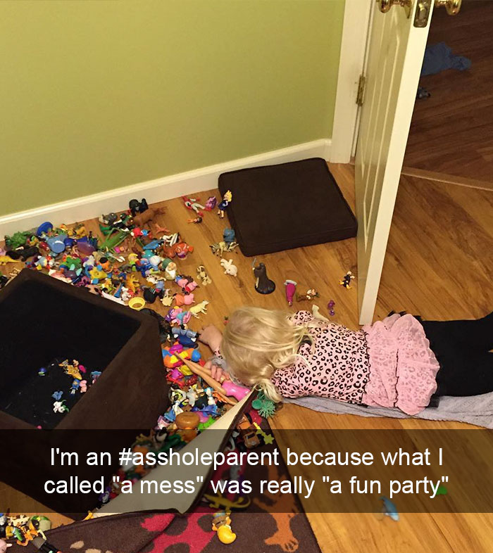 "I'm An #assholeparent Because What I Called ""a Mess"" Was Really ""a Fun Party"""