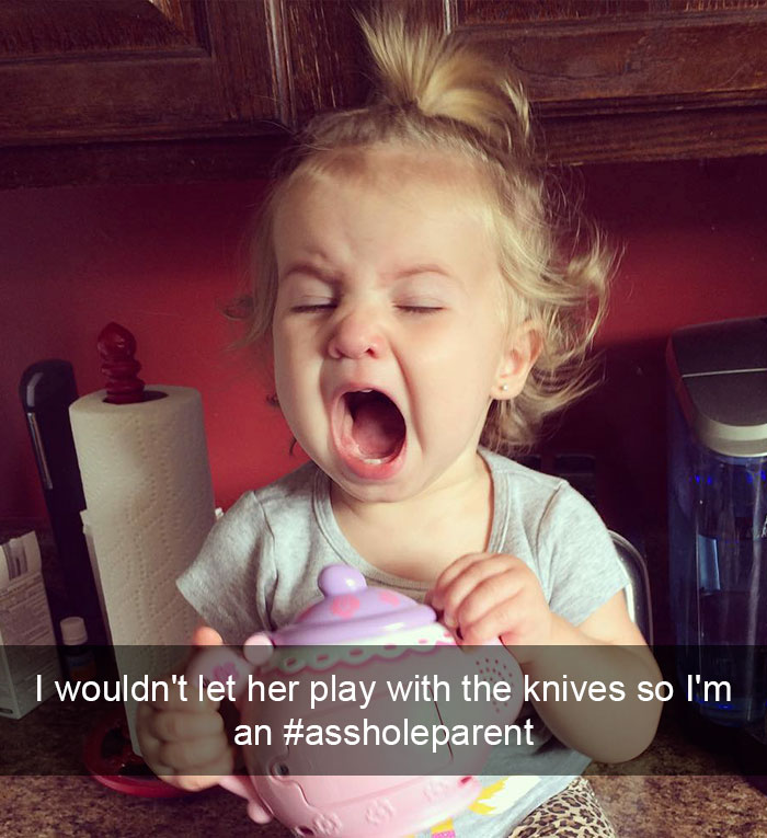 I Wouldn't Let Her Play With The Knives So I'm An #assholeparent