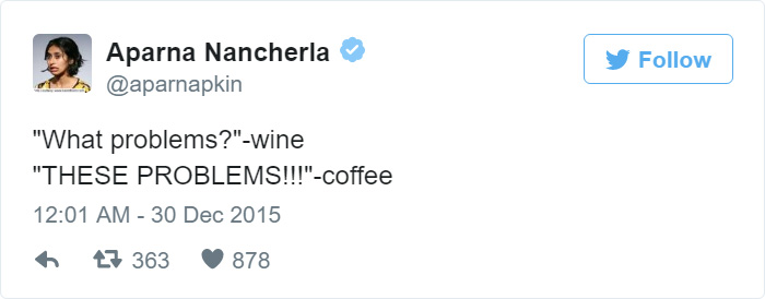 Funny Tweet About Coffee