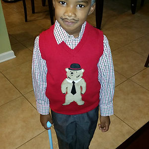 My Husband May Have Gone Too Far In Dressing Our Son Like An Old Man For School Today