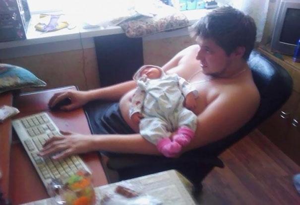 Multitasking Level: Dad