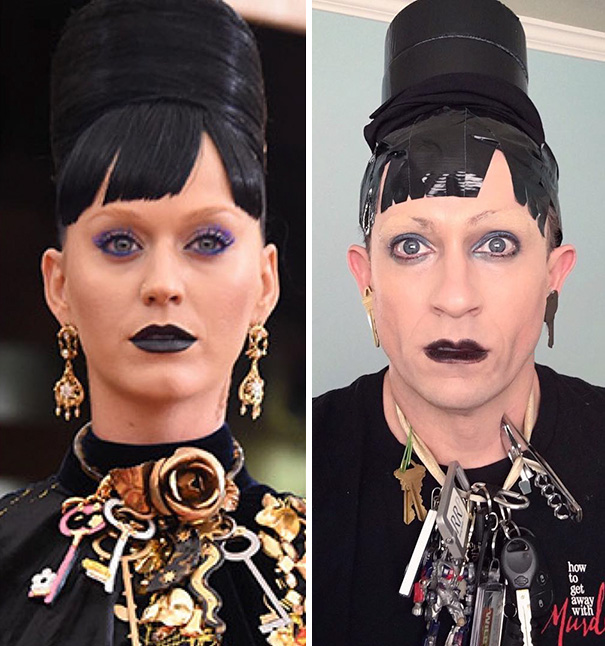 Tom Lenk As Katy Perry At Met Gala