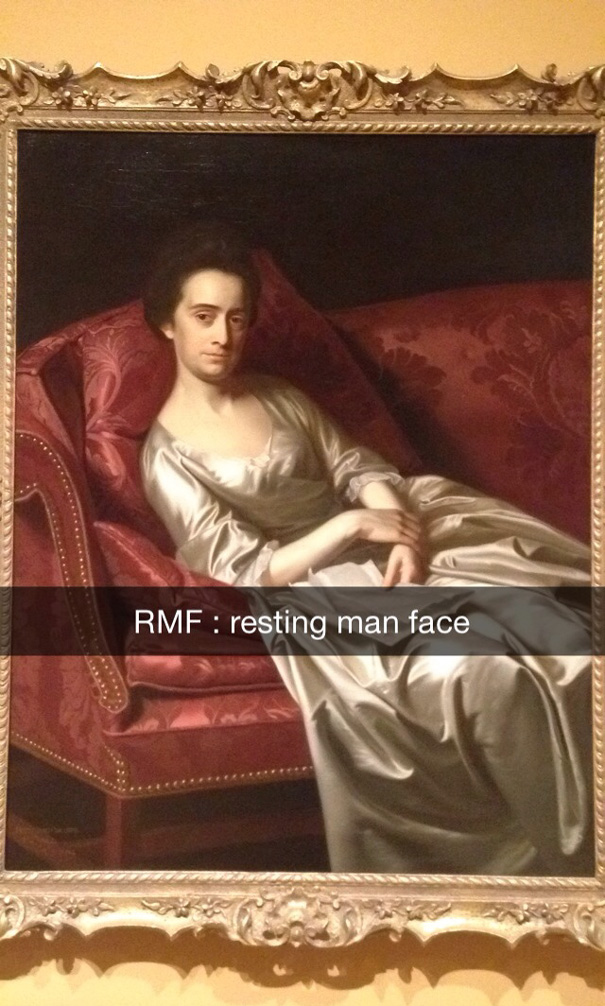 Rmf: Resting Man Face