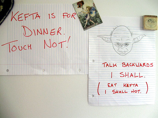 My Friend's Mom Likes To Leave Notes On The Fridge. This Was Her Response