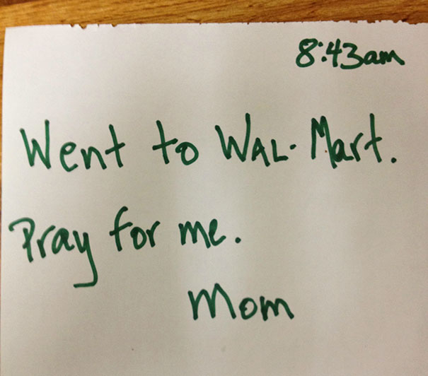 Me And My Mom Are Both Atheists, But She Left Me This Note This Morning