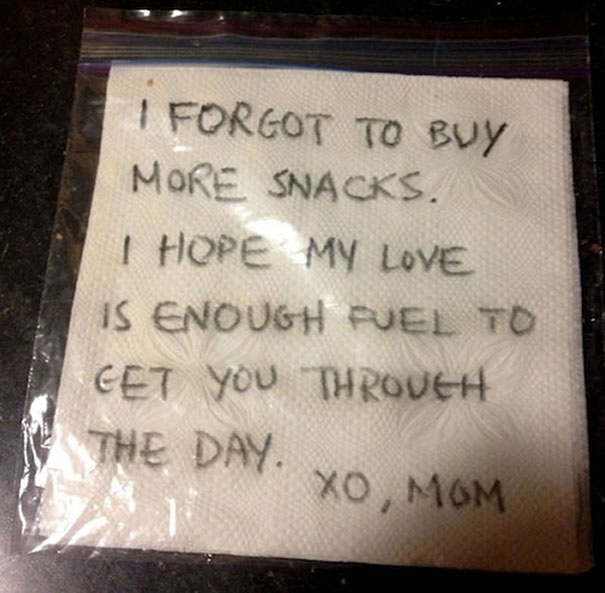 Mom's Love Is Enough Fuel