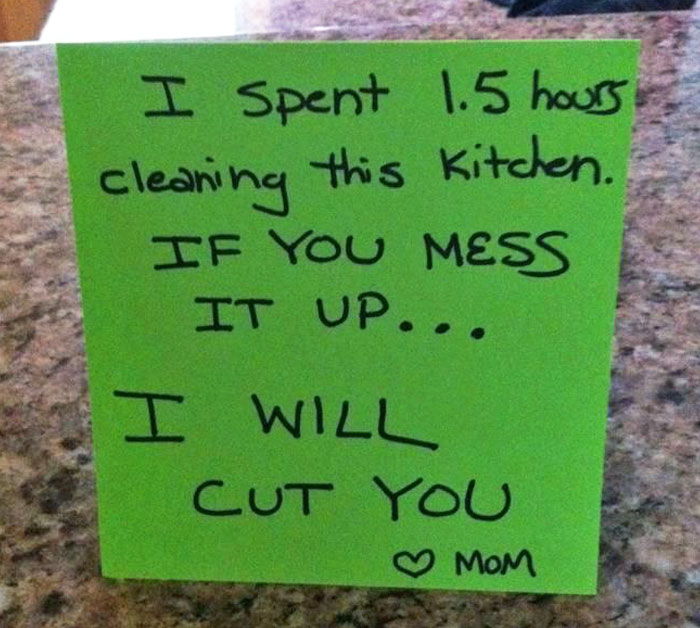 20+ Of The Funniest Notes From Moms And Dads