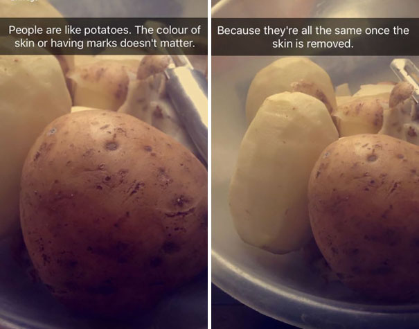 Peple Are Like Potatoes