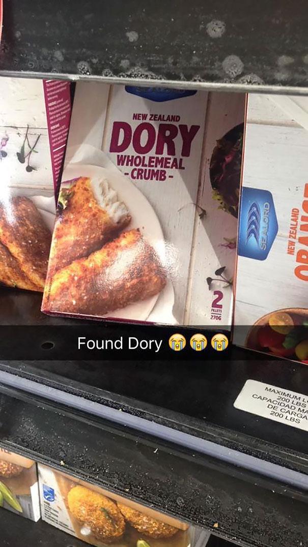 Found Dory :(