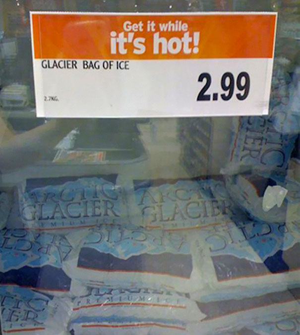 Hot Bag Of Ice